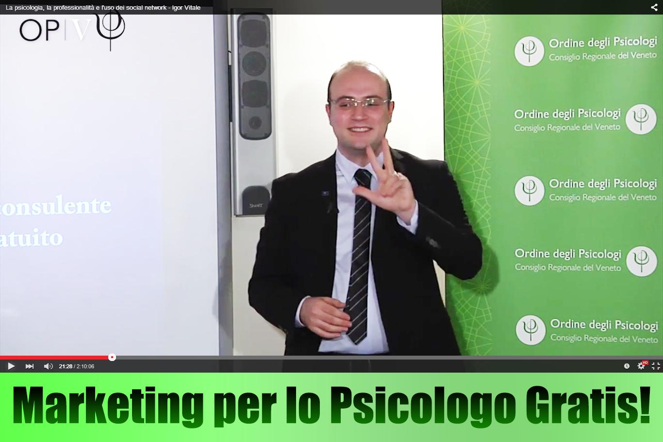 marketing per psicologi corso gratuito igor vitale