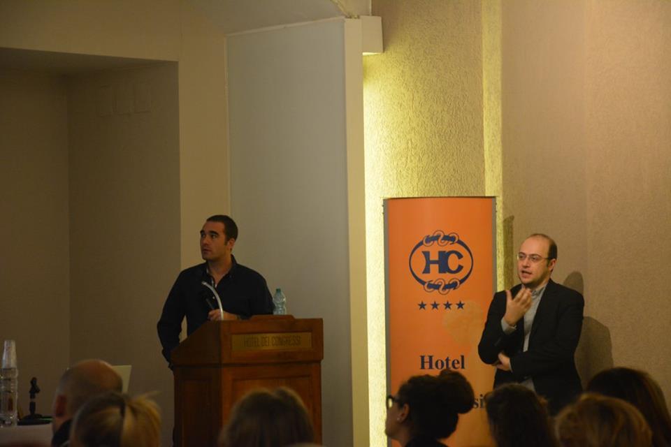 pierre guez e igor vitale spiegano i meccanismi della security dei social media al corso psicologia criminale roma