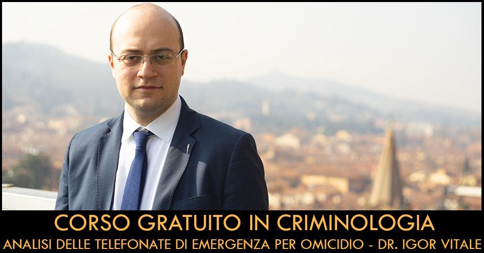 corso gratuito in criminologia