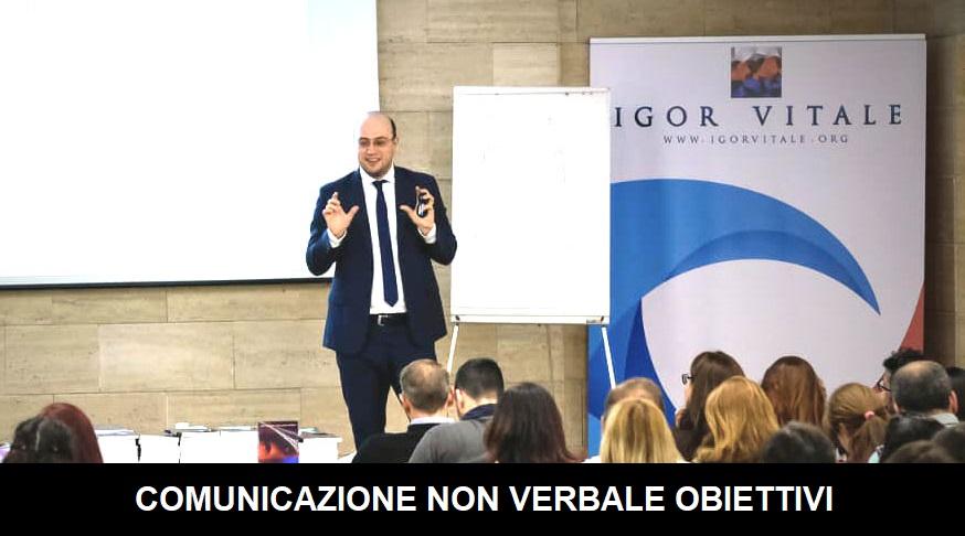 comunicazione non verbale obiettivi