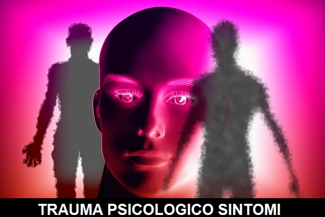 trauma psicologico sintomi