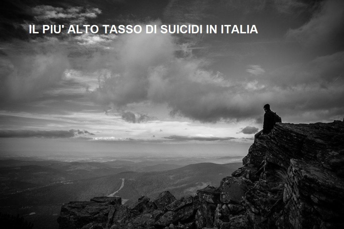 il più alto tasso di suicidi in italia