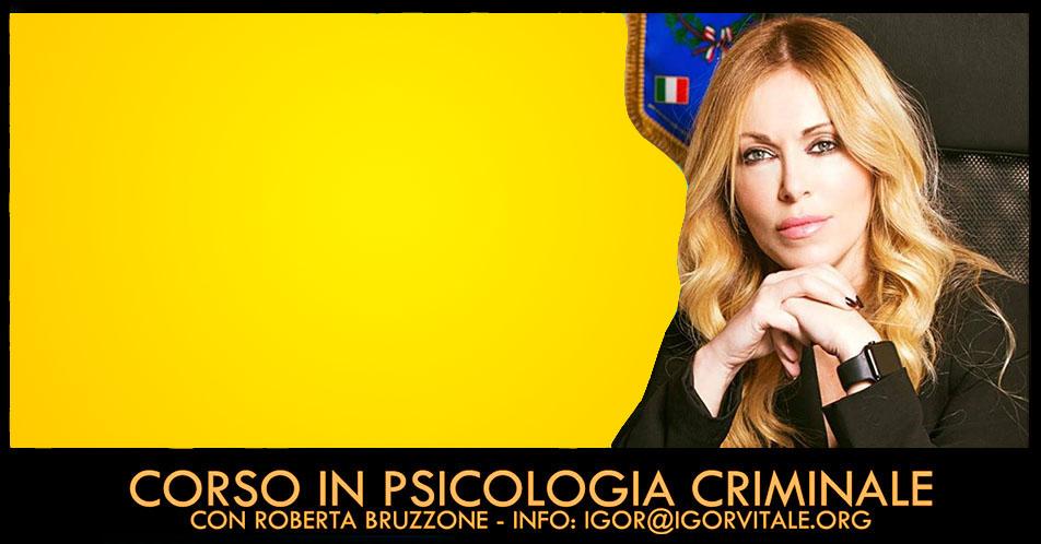 corso internazionale in psicologia criminale con roberta bruzzone